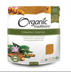 Organic Traditions -  TURMERIC POWDER  - 올가닉 트레디션 - 강황가루 - 200g