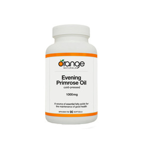 Orange Nutrition (오렌지 뉴트리션) - EVENING PRIMROSE OIL 1000MG - 90 SOFTGELS (달맞이꽃 종자유)