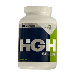 Abundance Naturally - HGH SELECT (GROWTH HORMONE) 180 CAPSULES(180캡슐)