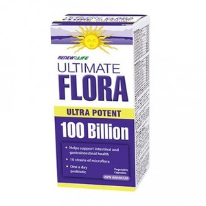 Renew Life - ULTIMATE FLORA ULTRA POTENT 1000억 - 14 VCAPS (유산균)
