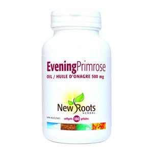 NEW ROOTS - Evening Primrose 500 mg 180 softgels(180정)