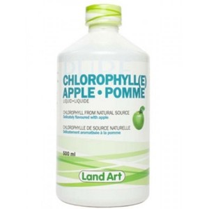Land Art - APPLE CHLOROPHYLL (사과 엽록소 추출물) 500 ML