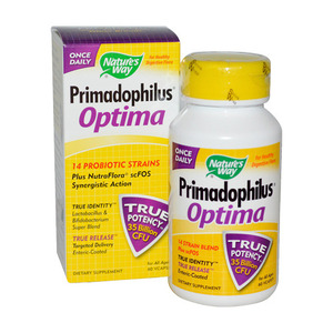 NATURE'S WAY - Primadophilus Optima 350억 - 60 Vcaps(60정)